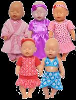Gemaakte poppenkleding voor Dienstenveiling 2016