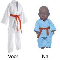 Van judopak naar judopak
